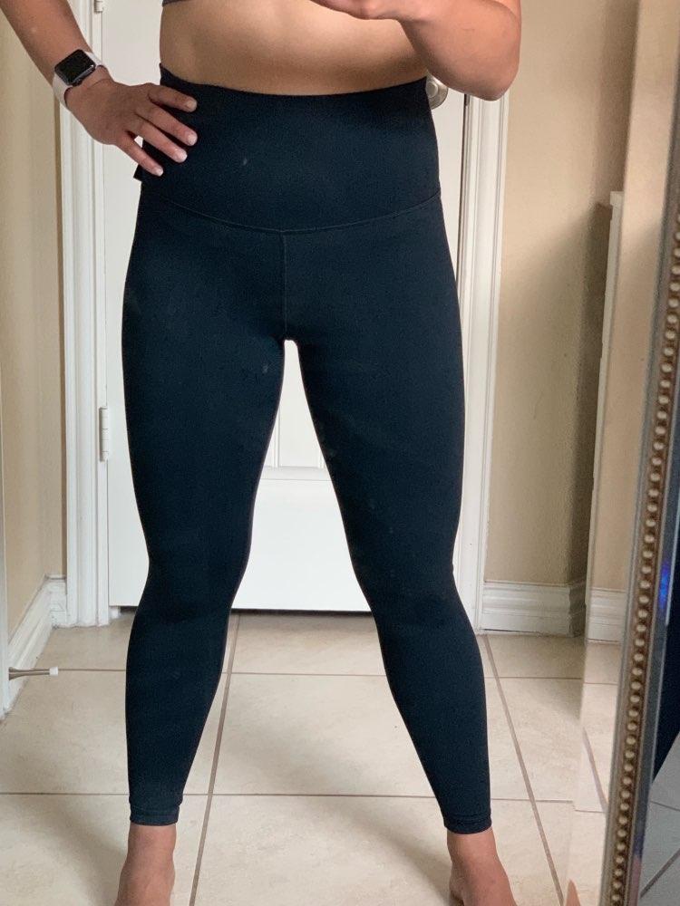 High Waist Leggings Stretch Waist Pants Capris Pants Pencil Skinny Pants Black Blue Green Wine Red Capris photo review