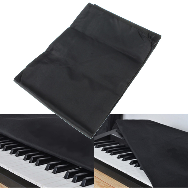 88 keys electronic piano keyboard cover dustproof layer thickened black piano cover cases. Black Bedroom Furniture Sets. Home Design Ideas