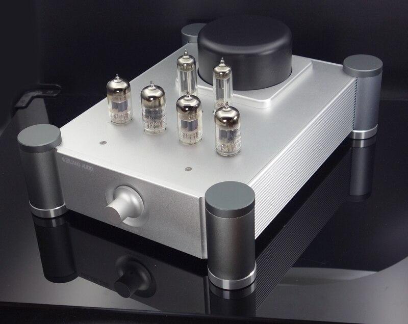 2019 latest 12AX7+12AU vacuum tube preamp Stereo audio HiFi tube preamplifier 2017 lastest music hall hi fi 12ax7 vacuum tube preamplifier stereo high end audio preamp valve pre amp