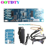 OOTDTY Laptop TV LCD LED Test Tool Panel Tester Support 7 84 Inch LVDS 6 Screen