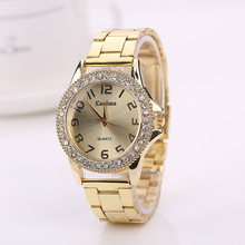 Quartz Watches Clock Gold Female Top-Brand Femme Women Luxury Lovers Montre KANIMA