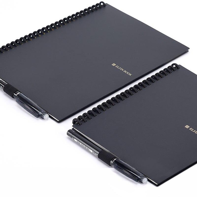 2021 Elfinbook Smart Reusable Erasable Spiral A5 Notebook Paper Notepad Pocketbook Diary Journal Office School Drawing Gift 6