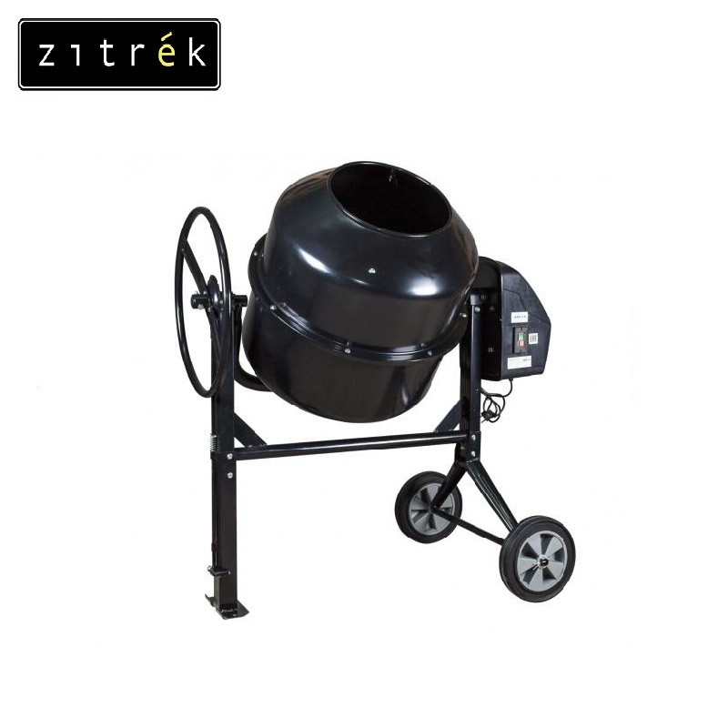 Concrete mixer Zitrek Z120 Job mixer Drum mixer Revolving-drum Tilting concrete Mixer making concrete mixes Mix fertilizer concrete at home