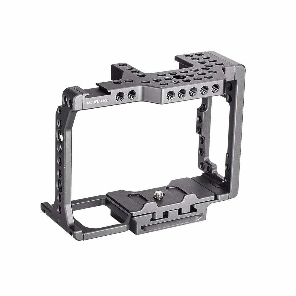 WARAXE A7 Camera Cage Built-in Quick Release Fits Arca Swiss for Sony A7 A7R A7S A7 II A7S II with 1/4 and 3/8 Threaded Holes bigbang 2012 bigbang live concert alive tour in seoul release date 2013 01 10 kpop