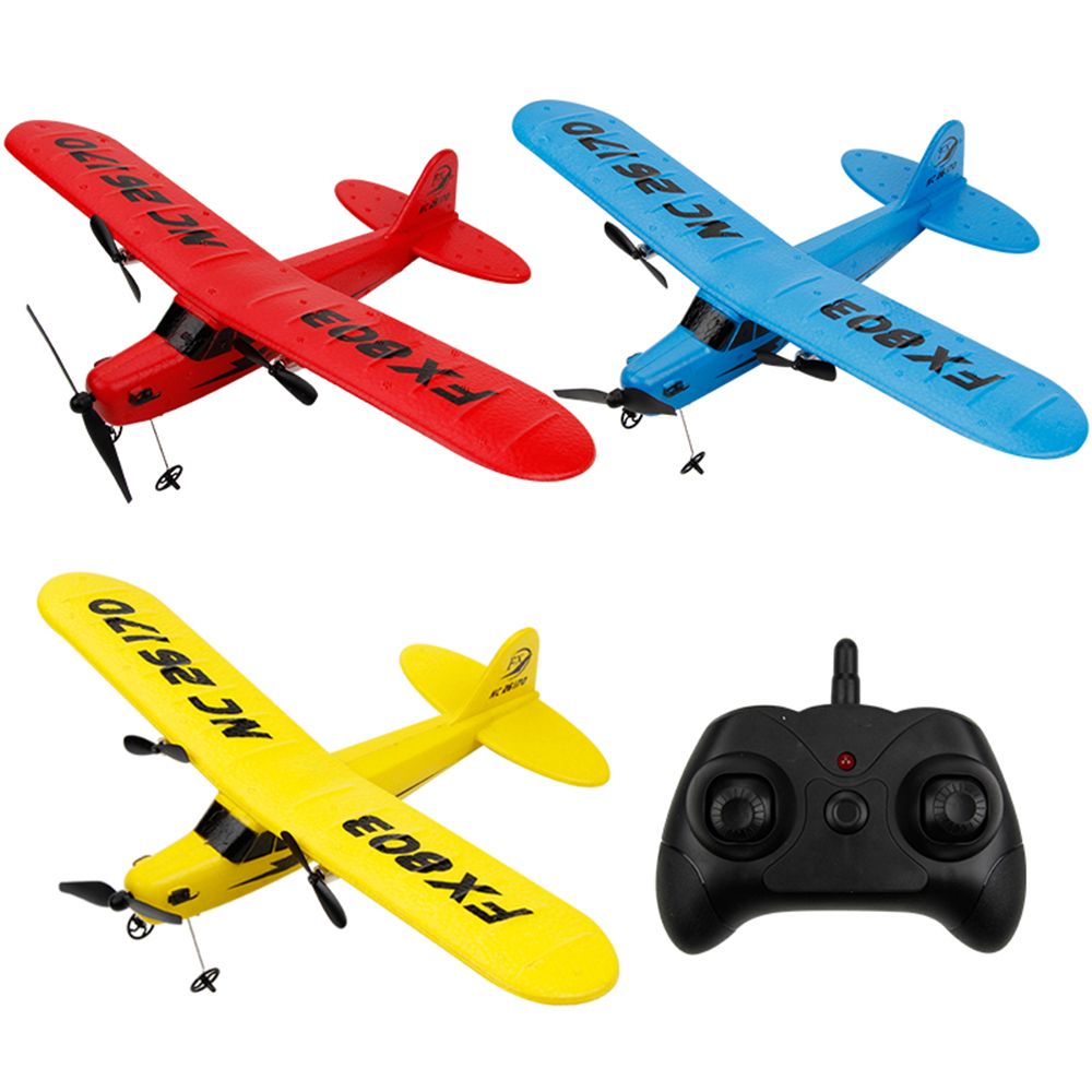 Rc Plane Rtf 2ch Fx803 Epp Material Rc Airplane Model Rc Glider Drones Outdoor Toys For Kid Boy Birthday Gift Hl803 Drones Matching In Colour