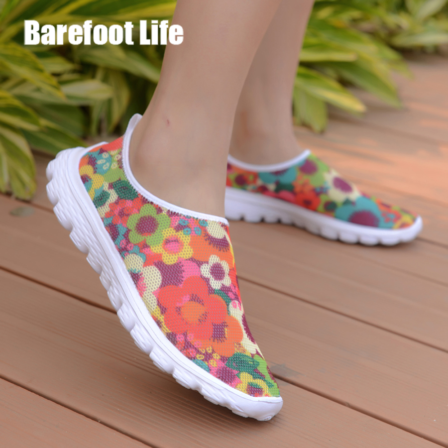 woman sneakers,fashion casual shoes,Light, comfortable, breathable, flat shoes for summer season 2018,Zapatos de verano,sneakers instantarts women flats emoji face smile pattern summer air mesh beach flat shoes for youth girls mujer casual light sneakers