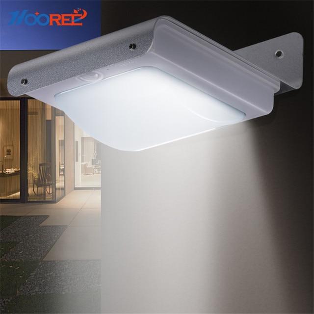 Ee 16 Led Ooudoor Solar Lamp Waterproof Ip65 Light Motion Sensor Outdoor Garage Garden