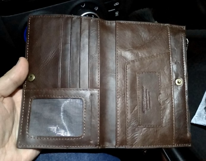 KAVIS Rfid Genuine Leather Passport Cover ID Card Holder Travel Credit Wallet Men Purse Case Driving License Bag Male Portomonee photo review