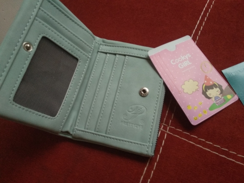 Prettyzys Creative PU leather Women Wallet Fashion short casual Female Thin coin Purse Card Holder small clutch Mini money bag photo review
