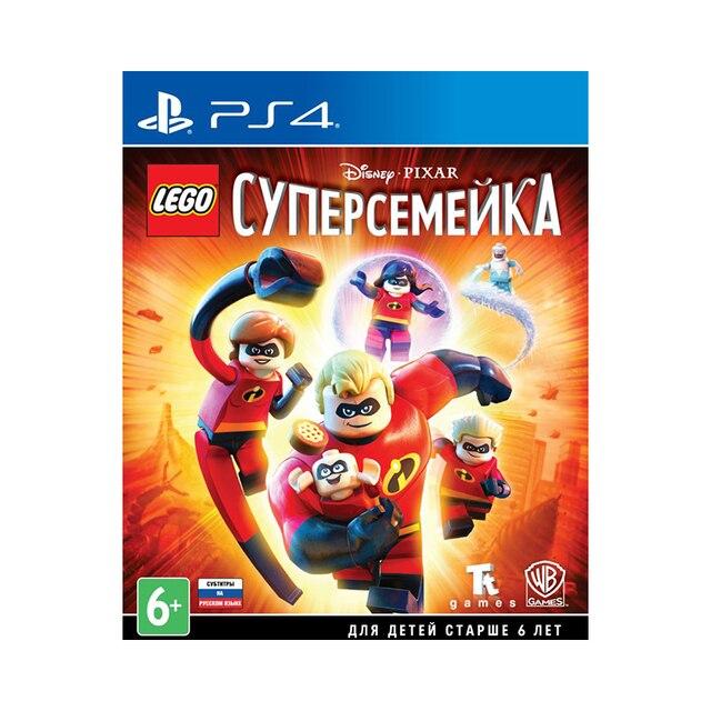 Игра для PlayStation 4 LEGO Суперсемейка
