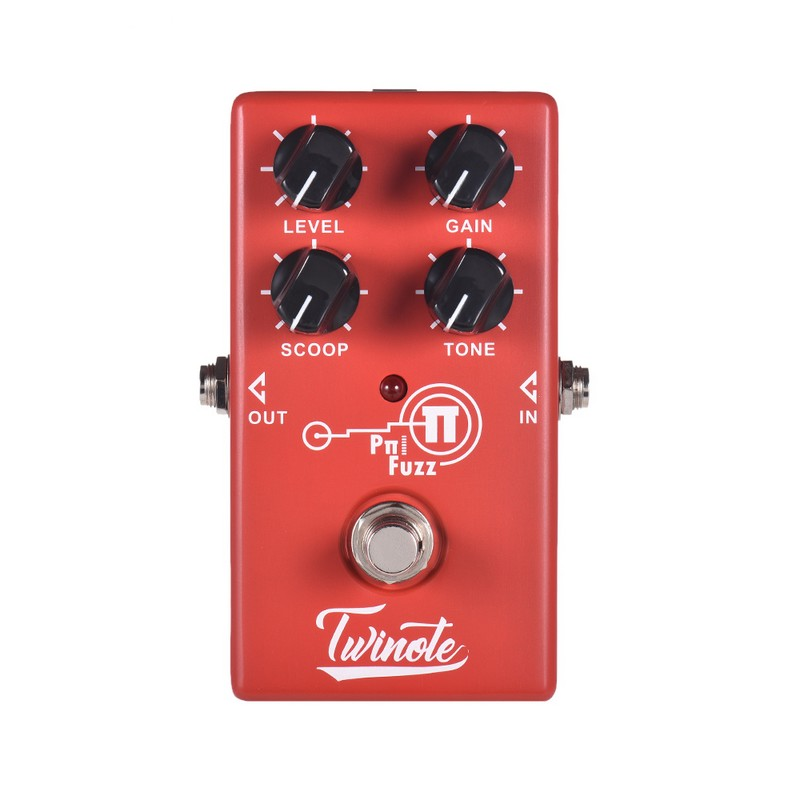 Twinote P FUZZ Analog Modern Effects Pedal Processsor Distortion High Gain Electric Guitar Effect Pedal Metal Rock Accessories image