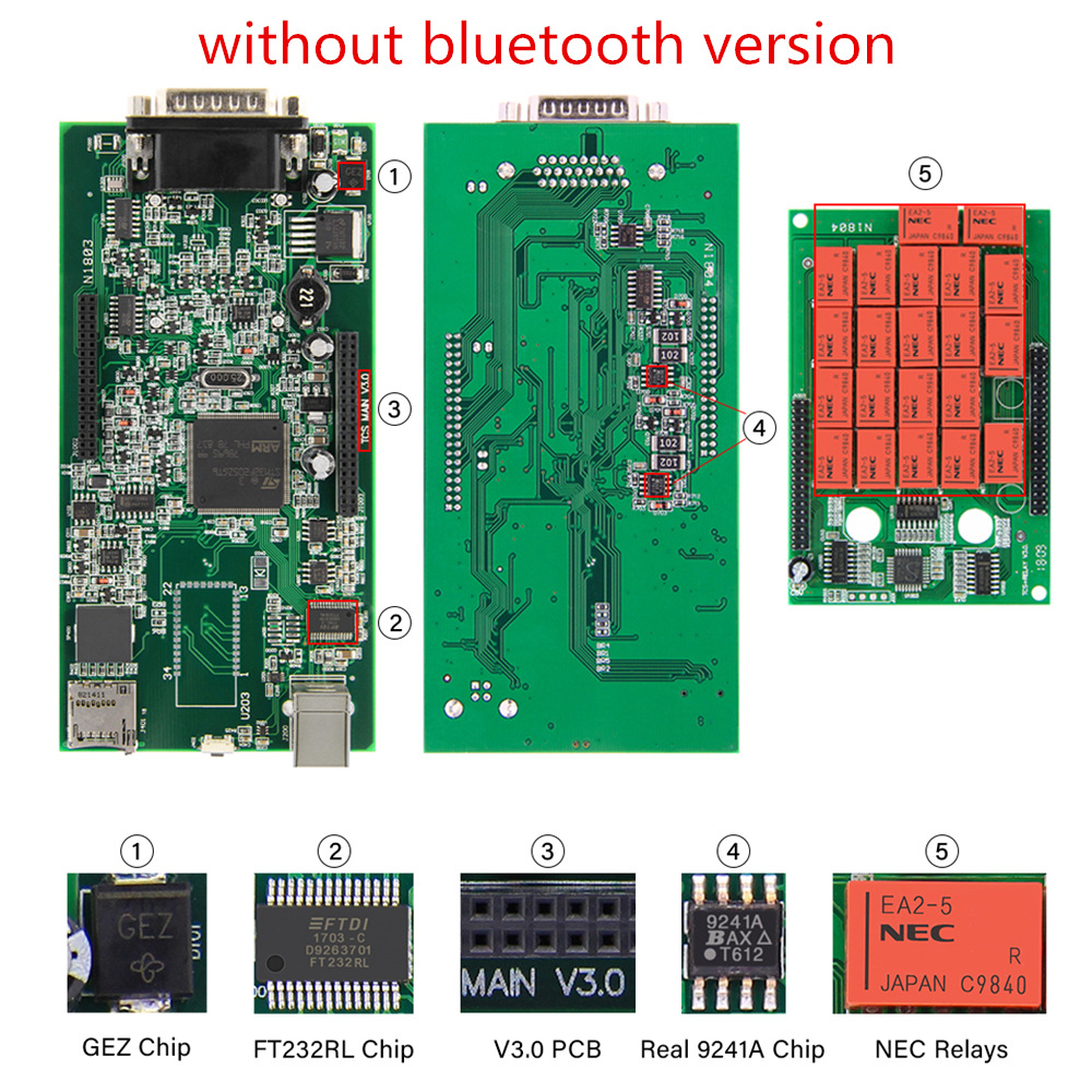 without bluetooth version
