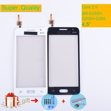 G355 For Samsung Galaxy Core 2 II SM-G355H G355H G355 G355M Touch Screen Panel Sensor Digitizer Glass Touchscreen NO LCD чехол для для мобильных телефонов oem 1 bling samsung core 2 g355h for samsung galaxy core 2 g355h