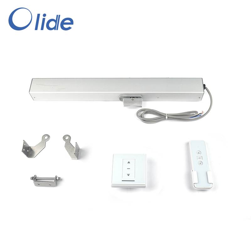 Olide Electric Chain Window Opener With Remote Control,Automatic Window Closer With Receiver 24VDC