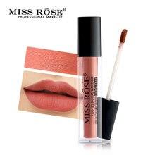 Бренд MISS PINK матовый бархатный блеск для губ 24 цвета жидкие губы водостойкий увлажняющий бальзам для губ красота макияж