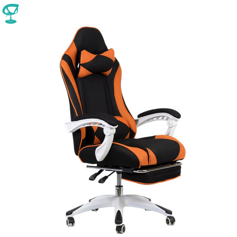 94999 Barneo K-140 Black Orange Gaming Chair Computer Chair Mesh Fabric High Back Plastic Armrests Free Shipping In Russia