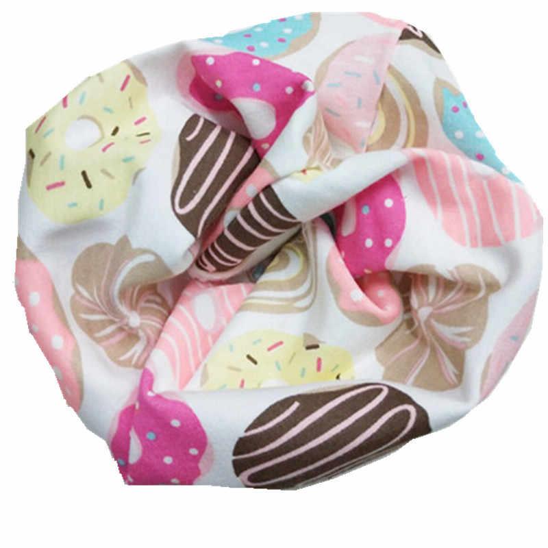 Nuevo dos colores tejido mixto anillo O collares de bebé invierno cálido niños bufanda doble capa moda niños niñas bufandas babero cuello desgaste