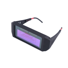 1pc Solar Auto Darkening Welding Glasses Welder Mask Helmet Eyes Goggle For Accessories