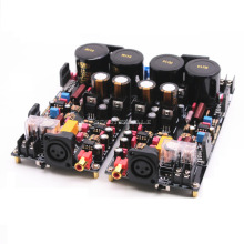 LM3886 Fully Balanced Power Amplifier Board 120W+120W HiFi Stereo 2-channel Finished Board lm3886 68w 68w stereo amplifier board 3pcs total