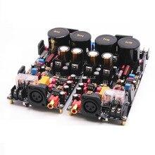 Placa amplificadora de potencia totalmente equilibrada LM3886, 120W + 120W, estéreo HiFi, tablero terminado de 2 canales