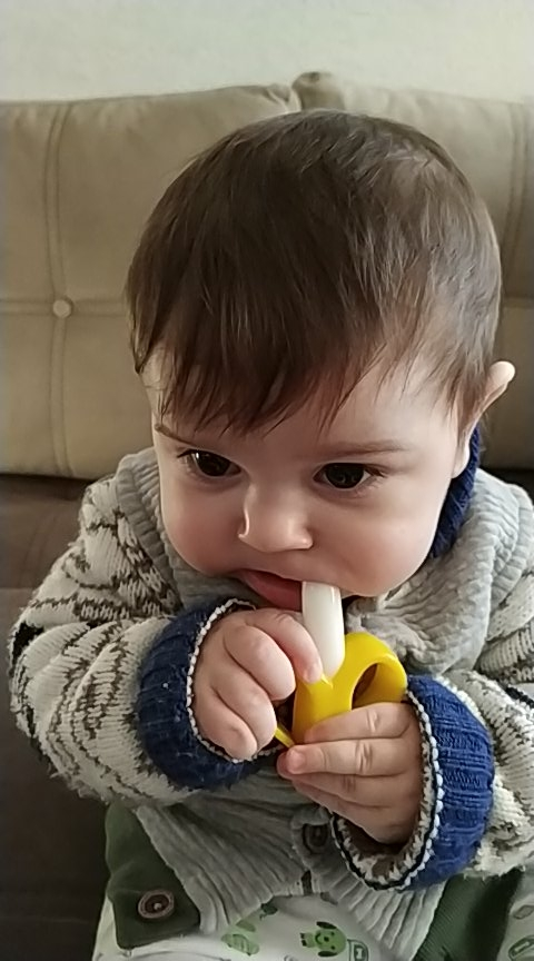 BalleenShiny™ Baby Banana toothbrush photo review