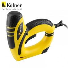Степлер электрический Kolner KES 650 (Мощность 650 Вт, скорость 30 уд/мин. ширина скобы 10,6 мм, высота скобы от 6 до 14 мм, длина гвоздя 15 мм, емкость магазина 50 шт)