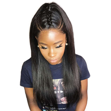360 Lace Frontal Wig You May Hair 180 Density Human Hair Wigs For Black Women Straight