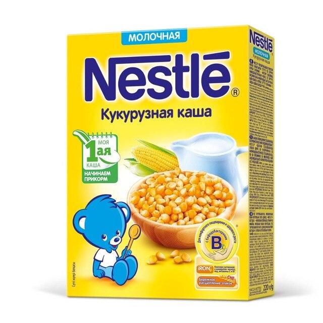 Nestle Молочная кукурузная каша (с 5 месяцев) 220 г