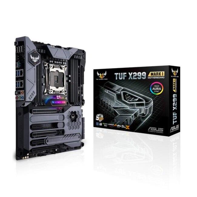 ASUS TUF X299 MARK 1, DDR4 SDRAM, DIMM, 2133,2400, 2666,3600, 4000 МГц, 128 ГБ, Intel, Intel Core i7