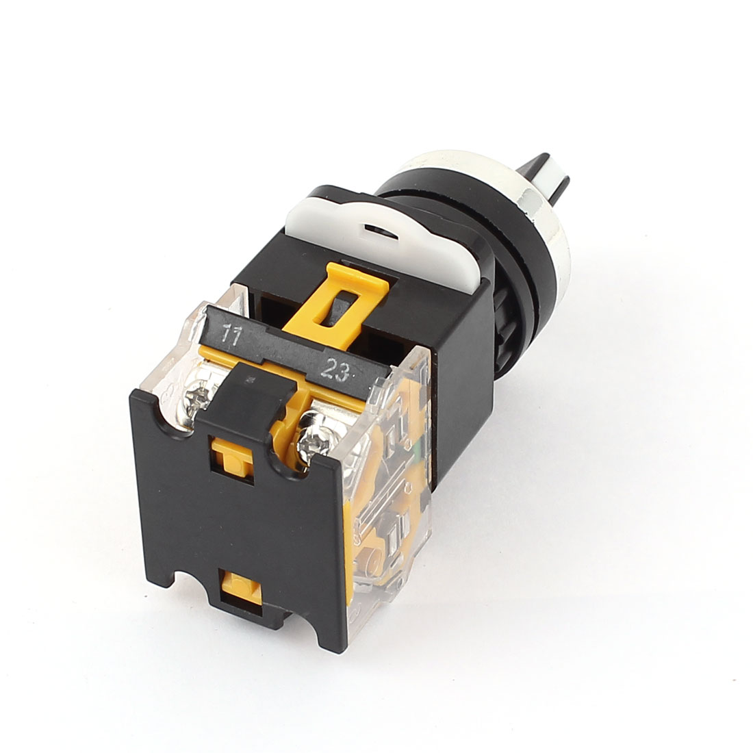 UXCELL Ac 380V 10A 2 Positions Dpst Rotary Selector Select Switch ...