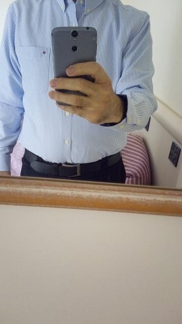 Men's Long Sleeve Plaid/Striped Oxford Dress Shirt Single Patch Pocket with Box-pleated Back Yoke Regular-fit Button Down Shirts