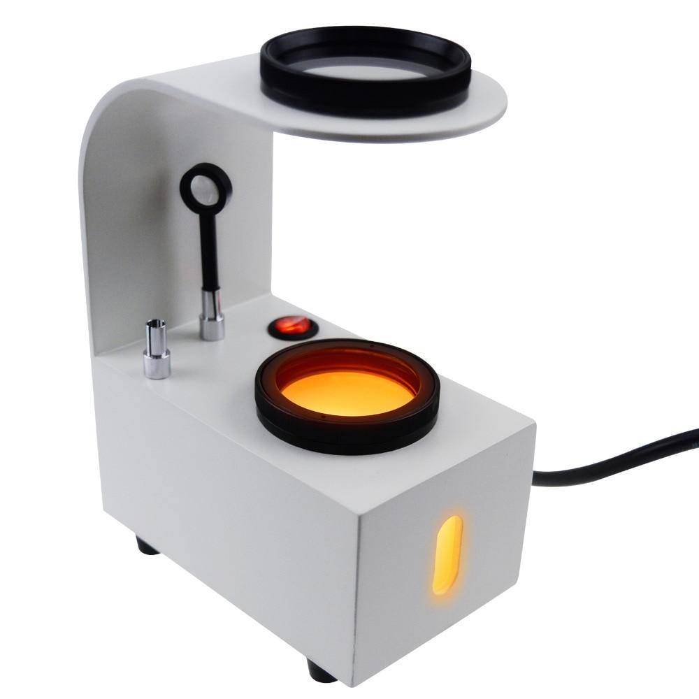 GS PS1 Desktop Polariscope Built in LED Gemstone 2 Glass Filter Gem Jewel Jeweller Tester Tool