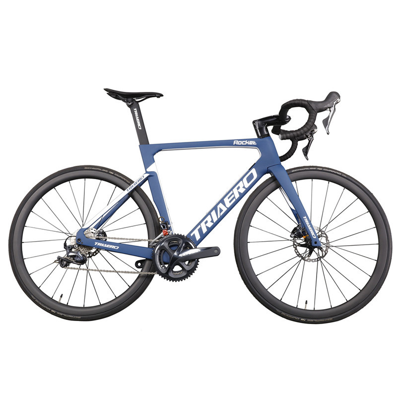 2019 Triaero New Aerodynamic All Internal Disc Carbon Road Bike