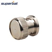 Superbat 10 adet toz kapağı koruyucu kapak Shield BNC jak kablosu konektörü
