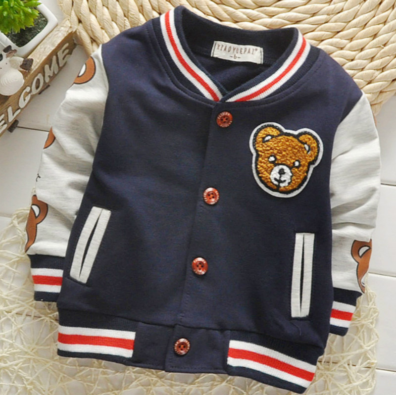 Edition  Spring And Autumn Cardiga Button Sweater Jacket Sportswear Cartoon Cotton Long Sleeved Children's Boy's Fashion Coat.(China)