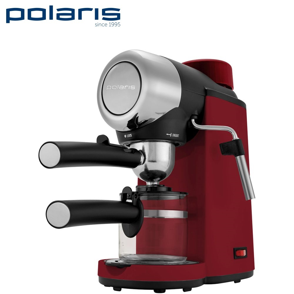 Coffee Maker Polaris PCM 4007A kitchen automatic pump Coffee machine espresso Coffee Machines Coffee maker Electric coffee maker delonghi eci 341 kitchen automatic pump coffee machine espresso coffee machines coffee maker electric