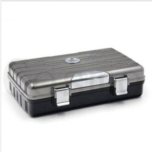 New Arrival Guevara Travel Cigar Humidor Case Moisturizing Colorful a case of moisturizing box with A Set Box Holder  8104