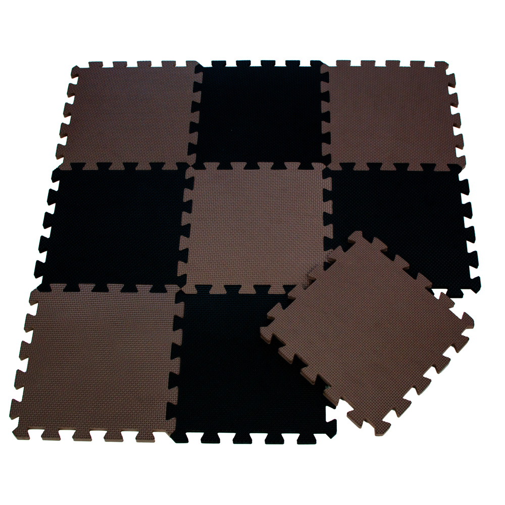 9pcsbag soft eva foam baby play mat brown color series puzzles 9pcsbag soft eva foam baby play mat brown color series puzzles mat floor tiles activity protective mats 30 x 30 x 1cm for boys in play mats from toys dailygadgetfo Choice Image