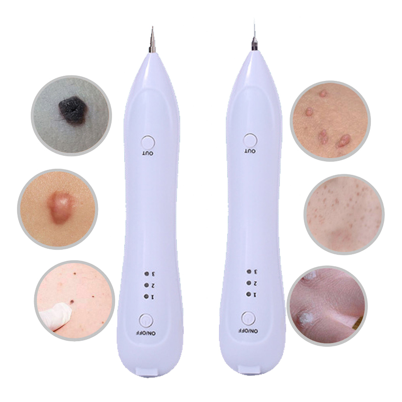 Electric Laser Face Wart Tag Tattoo Remaval Pen Skin Mole Dark Spot Remover Freckle Removal Machine For Salon Home Beauty Care недорого