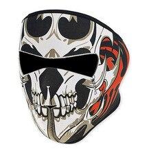 Зимние Балаклавы неопрена CS шеи теплая маска для лица, вуаль Спорт Мотоцикл Лыжный велосипед унисекс череп легкая дышащая маска для лица