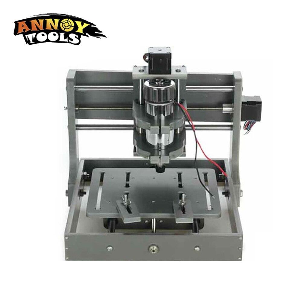 New CNC 2020B PCB Milling Machine DIY Mini CNC Wood Carving Engraving Machine cnc2020B PVC Mill Engraver Support MACH3 System
