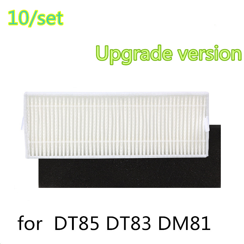 10/set Upgrade version  Filter for vacuum cleaner Hepa filter for  DT85 DT83 DM81 cheapest 1pcs cleaning mopping cloth 3 pair hepa filter 3 pair cleaner side brush for dt85 dt83 dm81 vacuum cleaner for house