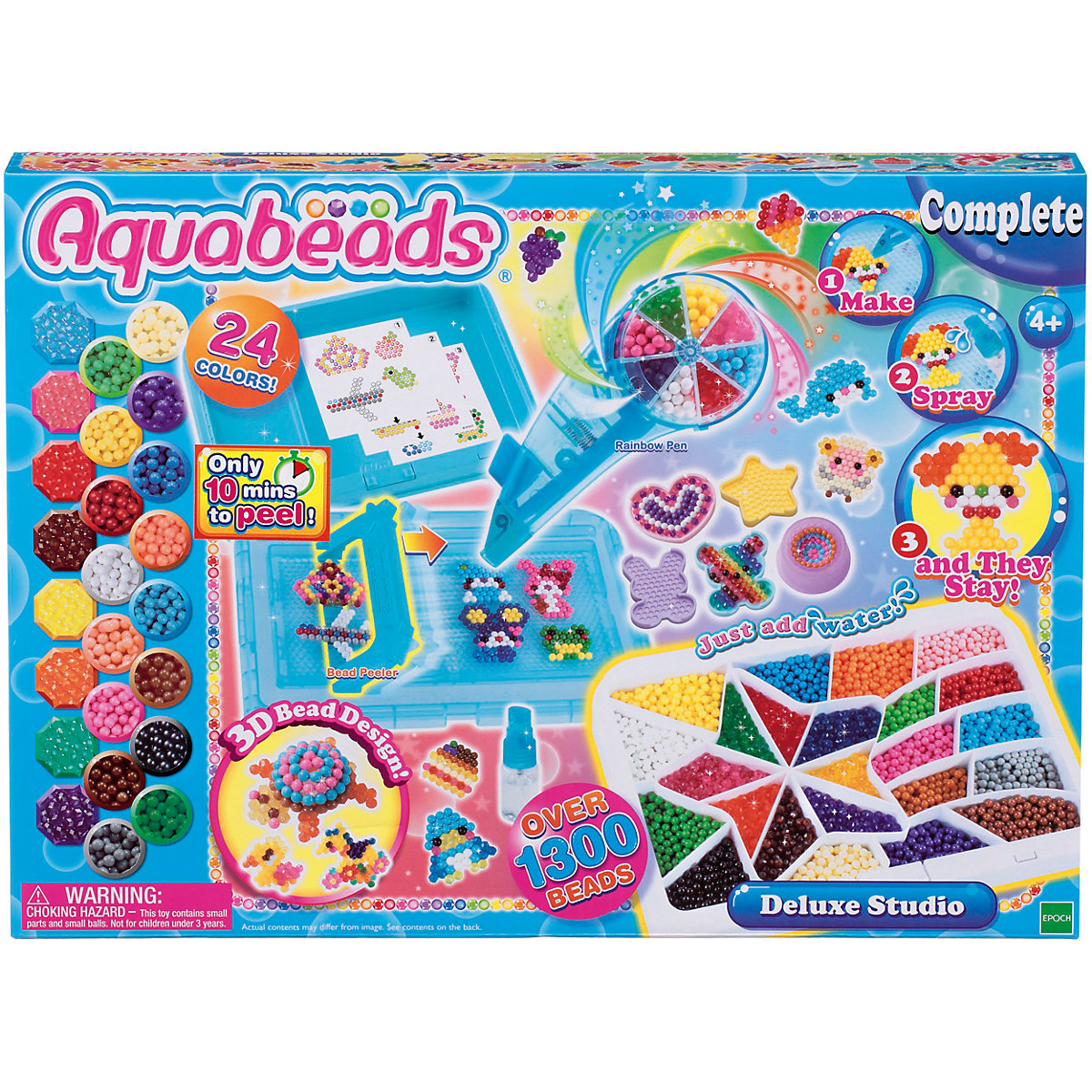 Beads Toys Aquabeads 7240127 Erasers Weaving Garland Materials Creativity Kids MTpromo