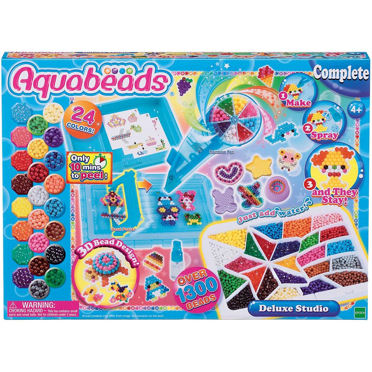 Beads Toys Aquabeads 7240127 Erasers Weaving Garland Materials Creativity Kids MTpromo