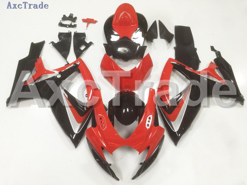 Motorcycle Fairings For Suzuki GSXR GSX-R 600 750 GSXR600 GSXR750 2006 2007 K6 06 07 ABS Plastic Injection Fairing Bodywork B26 injection mold fairing 2006 2007 for suzuki gsx r 600 750 k6 k7 plastic bike bodywork red frame free brand logo decal