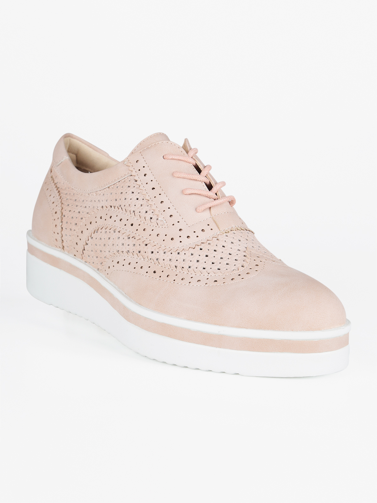 Texture Knitted Casual Shoes