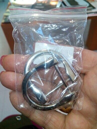 2.5cm / 1.8cm Metalen D-ringgesp-accessoires Nieuw Afneembare te openen verwijderbare handtas Purseband DIY 1-verpakking (2pcs) photo review