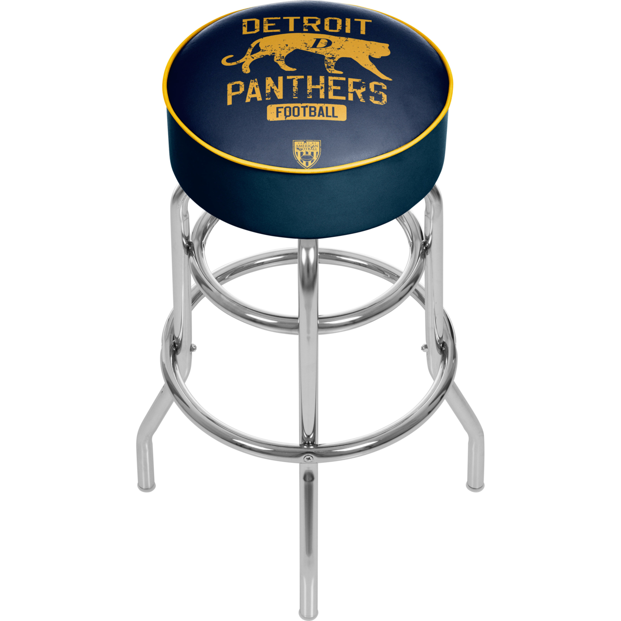 VAF Detroit Panthers Padded Swivel Bar Stool 30 Inches High eurofit detroit
