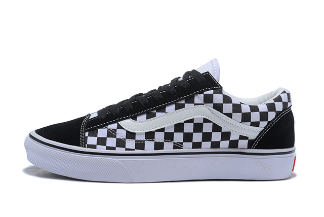 VANS Style 36 Crazy Check Old Skool Low-top CLASSICS Unisex MEN S   WOMEN S  Skateboarding Shoes Sports Shoes free shipping 7ff23a372