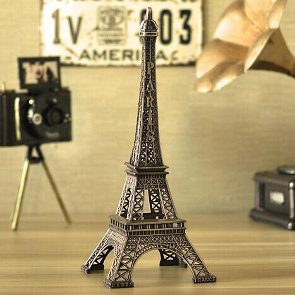 1Pc Creative Gifts 5 15cm Metal Art Crafts Paris Eiffel Tower Model ...